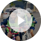 Video - Kids riding bikes Safely